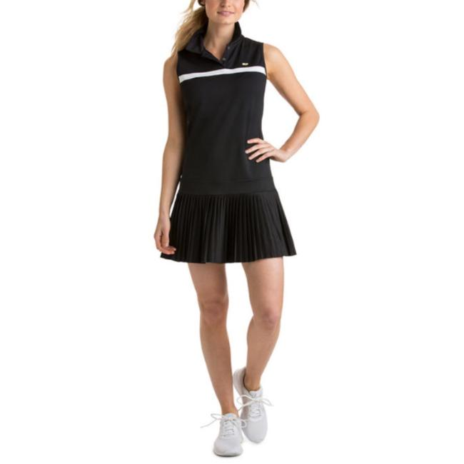 Preload https://img-static.tradesy.com/item/23887763/vineyard-vines-black-2q0821-sleeveless-pleated-dress-activewear-sportswear-size-16-xl-plus-0x-0-0-650-650.jpg