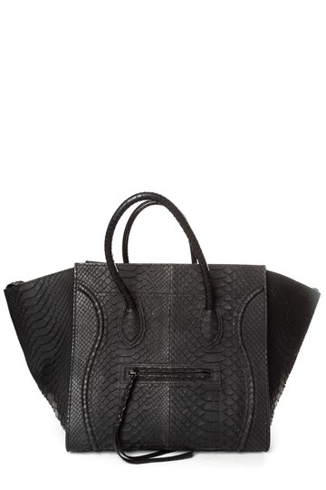 Preload https://img-static.tradesy.com/item/23887779/celine-cabas-phantom-luggage-luggage-phantom-matte-snake-medium-black-snakeskin-leather-tote-0-0-540-540.jpg