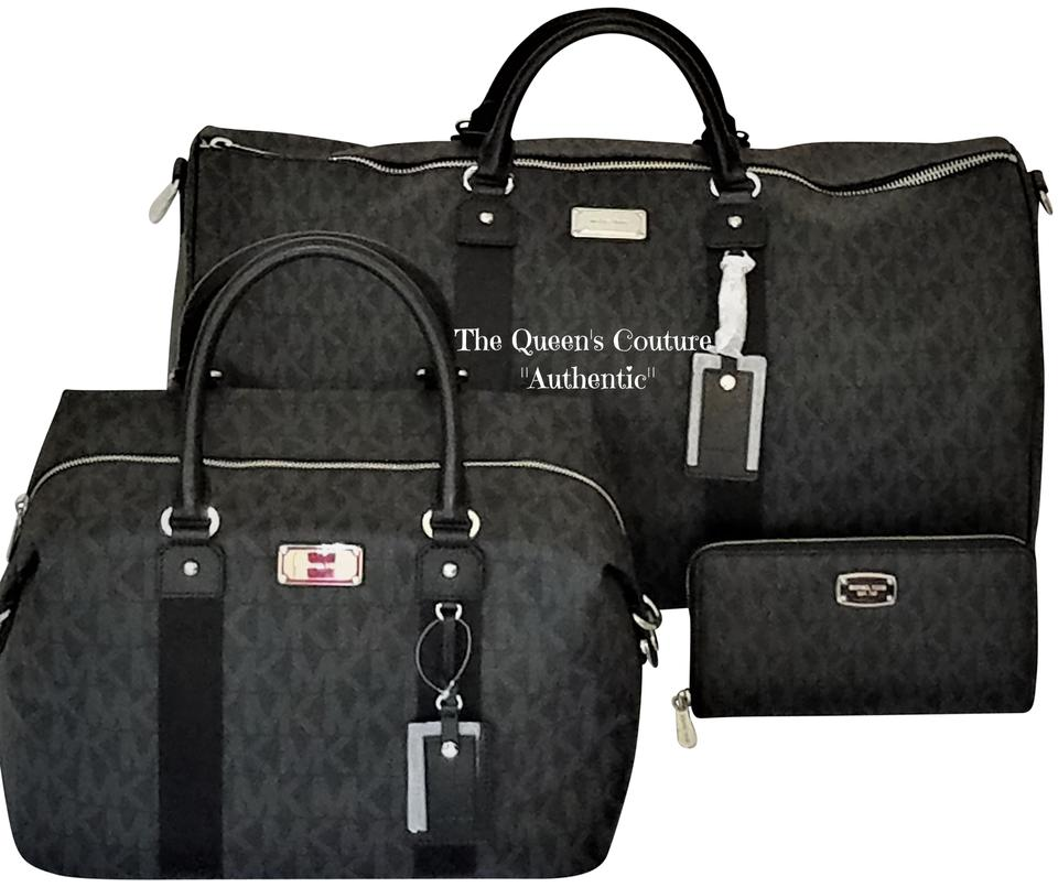 9ced1160bf9a ... promo code for michael kors jet set travel weekenders jet set duffle  sets black travel bag