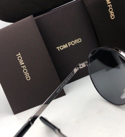 Tom Ford Polarized JAMES BOND 007 TOM FORD Sunglasses MARKO 144 14D Ruthenium