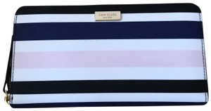 Kate Spade NWT Laurel Way Printed Neda Zip Wallet WLRU3020