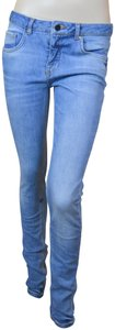 Victoria Beckham Premium High-end Designer Denim Skinny Jeans-Medium Wash