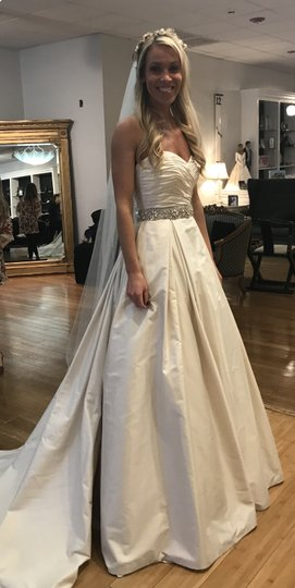 Preload https://item1.tradesy.com/images/paloma-blanca-champagne-dupioni-silk-4606-formal-wedding-dress-size-6-s-23887855-0-0.jpg?width=440&height=440