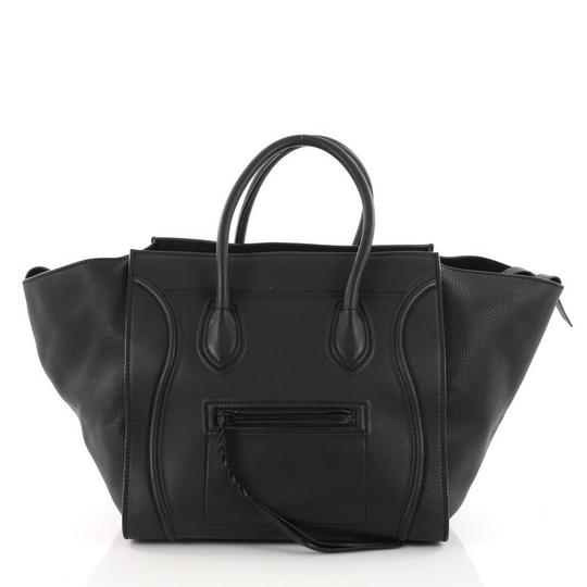 Preload https://img-static.tradesy.com/item/23887878/celine-cabas-phantom-handbag-smooth-medium-black-leather-tote-0-0-540-540.jpg