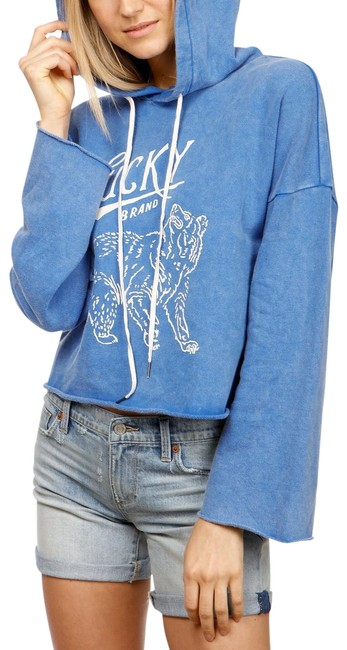 Preload https://item4.tradesy.com/images/lucky-brand-blue-bear-cotton-graphic-print-sweatshirthoodie-size-12-l-23887893-0-1.jpg?width=400&height=650