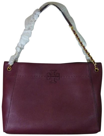 Preload https://item1.tradesy.com/images/tory-burch-imperial-garnet-mcgraw-chain-slouchy-wine-leather-tote-23887905-0-0.jpg?width=440&height=440