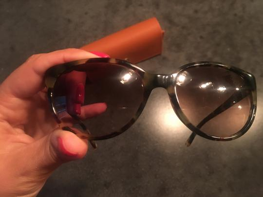 Tory Burch Tory Burch Tortoise Sunglasses with Case