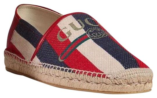Gucci being/red/Blue Flats