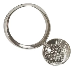 Marc Jacobs Marc Jacobs Crystal Heart Ring MSRP $77