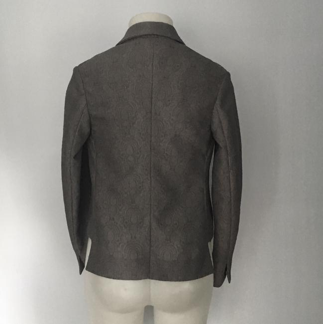 Saint Laurent Ysl Jacket Designer Gray Blazer