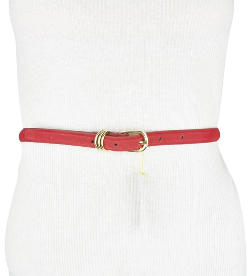 Preload https://img-static.tradesy.com/item/23887960/bcbgeneration-red-bcbg-faux-leather-velvet-belt-0-1-540-540.jpg