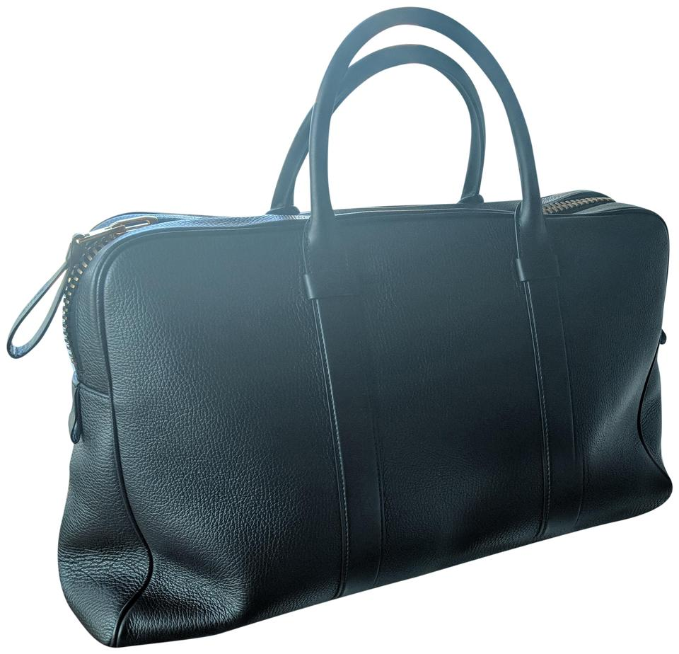 fb241cf321af Tom Ford Duffle Buckley Black Leather Weekend/Travel Bag 72% off retail