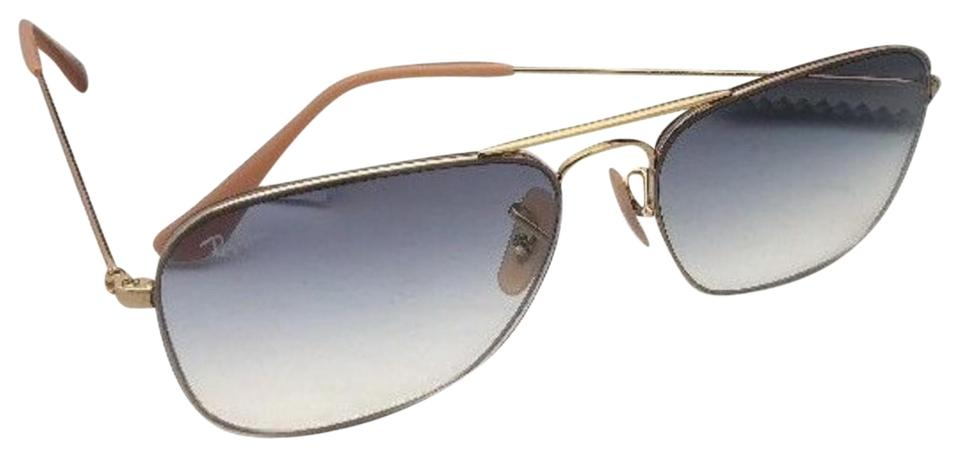 248c89302f Ray-Ban New Rb 3603 001 19 56-14 140 Gold Aviator W  Blue Gradient ...
