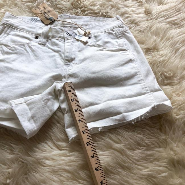 Madewell Cut Off Shorts off white