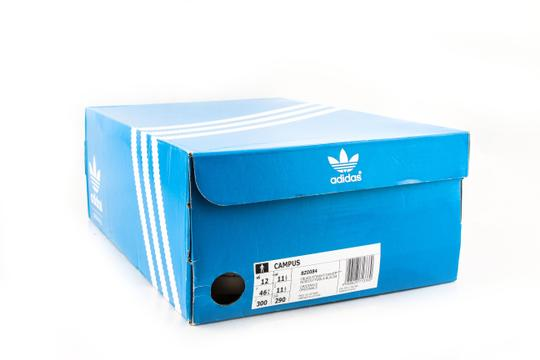 adidas Core Black Campus Sneakers Shoes