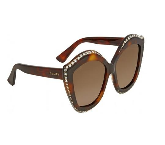 Preload https://item5.tradesy.com/images/gucci-brown-gg0118s-003-sunglasses-23888059-0-0.jpg?width=440&height=440