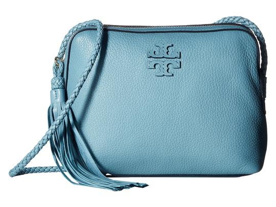 Preload https://img-static.tradesy.com/item/23888083/tory-burch-taylor-falls-camera-blue-pebbled-leather-cross-body-bag-0-0-540-540.jpg