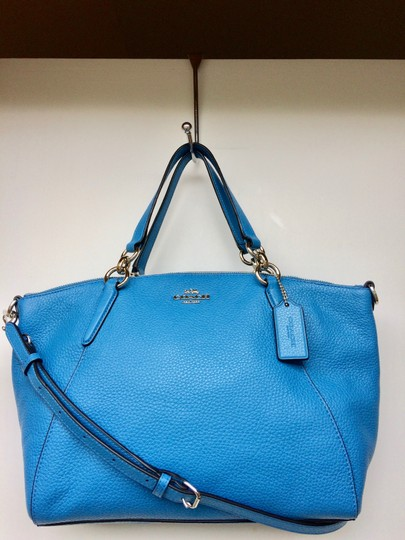 Coach New With Tags Satchel in BRIGHT BLUE