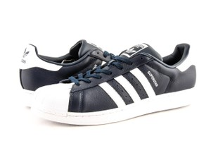 adidas Navy / White Men's Superstar Shoes