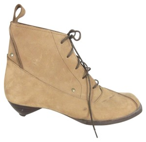 John Fluevog Letather Lace-up Nubuck brown Boots