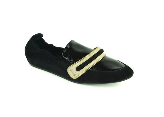 Preload https://img-static.tradesy.com/item/23888202/lanvin-black-women-s-elasticated-goatskin-leather-suede-loafers-flats-size-us-4-regular-m-b-0-1-540-540.jpg