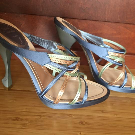 Rene Caovilla blue Sandals