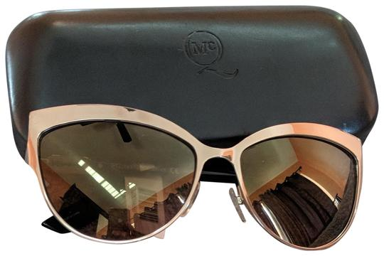 MCQ by Alexander McQueen Metal Cat Eye Sunglasses