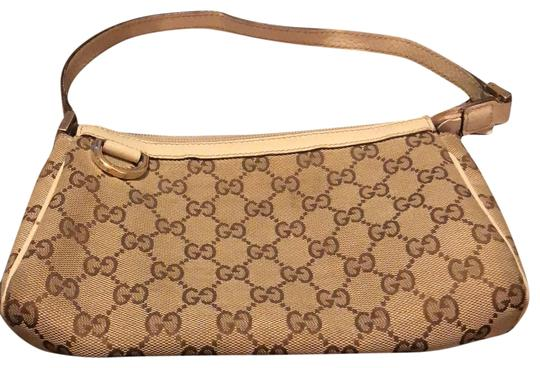 Preload https://item1.tradesy.com/images/gucci-monogram-pouchette-with-dust-shoulder-bag-23888240-0-1.jpg?width=440&height=440