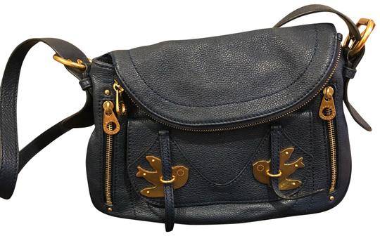 Preload https://img-static.tradesy.com/item/23888264/marc-by-marc-jacobs-natasha-petal-to-the-metal-navy-blue-and-gold-leather-cross-body-bag-0-1-540-540.jpg