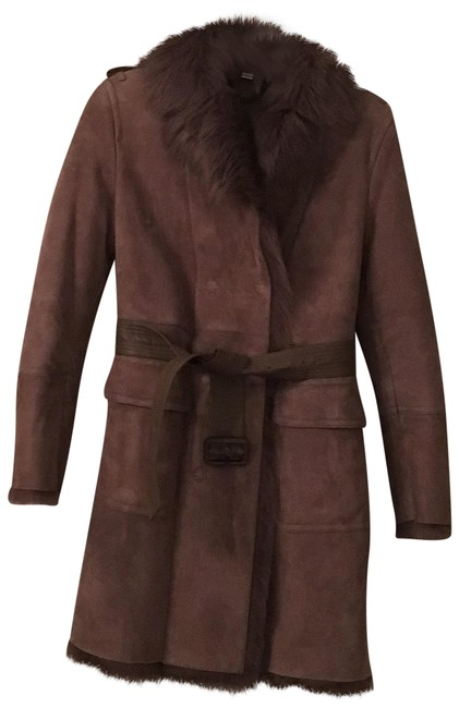 Preload https://item4.tradesy.com/images/burberry-london-greytan-shearling-trench-coat-size-6-s-23888278-0-1.jpg?width=400&height=650