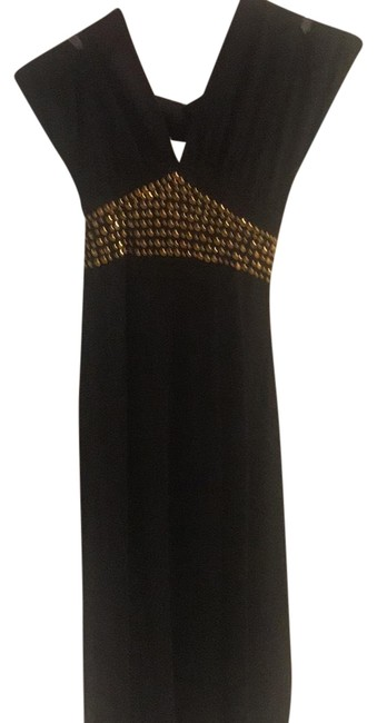 Preload https://item4.tradesy.com/images/marciano-black-studded-halter-mid-length-casual-maxi-dress-size-2-xs-23888288-0-1.jpg?width=400&height=650