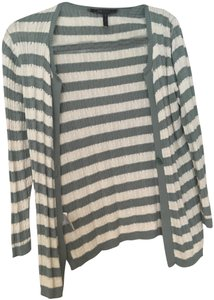 BCBGMAXAZRIA Stripe Bcbg Jacket Sweater Cardigan