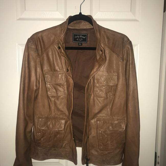 Lucky Brand Tan Leather Jacket