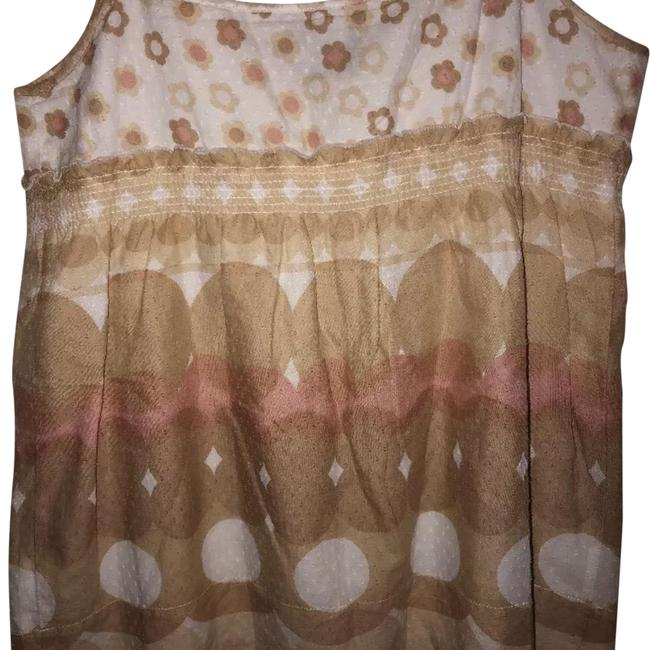 Preload https://item2.tradesy.com/images/juicy-couture-khaki-and-white-textured-babydoll-camisole-tank-topcami-size-4-s-23888336-0-1.jpg?width=400&height=650
