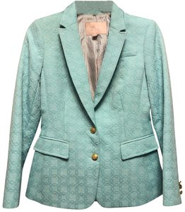 Banana Republic light turquoise Blazer
