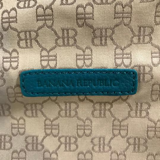 Banana Republic Teal Clutch