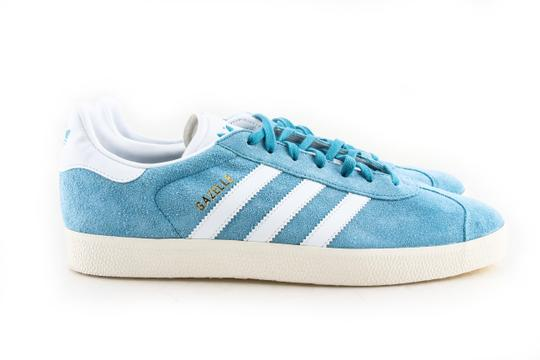 adidas Blue / White Gazelle Shoes