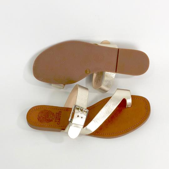 Vince Camuto Gold Sandals