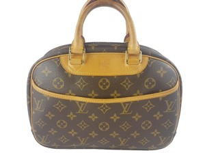 Louis Vuitton Lv Monogram Trouville Tote in Brown