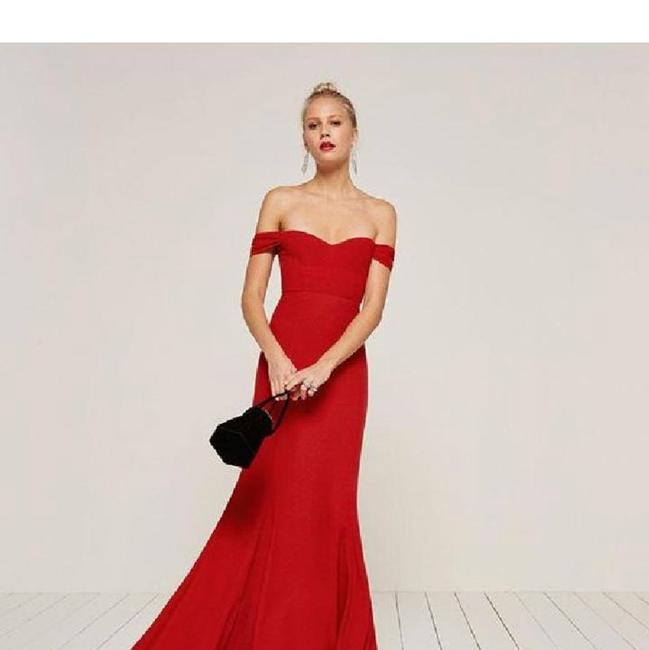 red Maxi Dress by Reformation