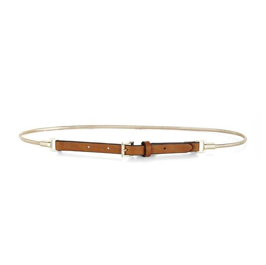 Preload https://item5.tradesy.com/images/bcbgmaxazria-brown-bcbg-gold-chain-faux-leather-belt-23888479-0-0.jpg?width=440&height=440