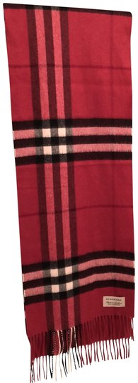 Preload https://item1.tradesy.com/images/burberry-fuchsia-pink-giant-check-cashmere-scarfwrap-23888480-0-1.jpg?width=440&height=440