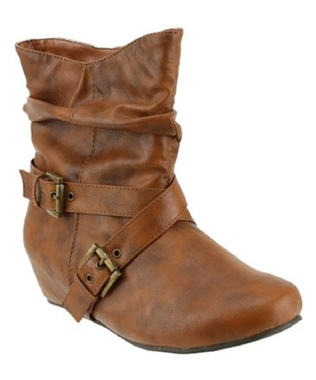 Red Circle Footwear Cute Slouch Camel Boots