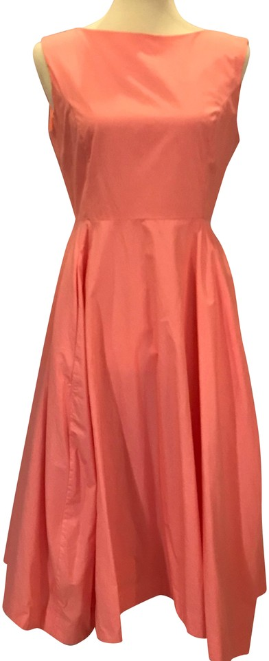 bdfd016f6a94 COS Pink Flared W Pockets Mid-length Cocktail Dress Size 8 (M) - Tradesy