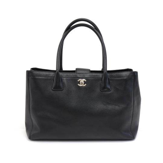 Preload https://item5.tradesy.com/images/chanel-cerf-caviar-black-leather-tote-23888494-0-0.jpg?width=440&height=440