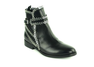 ALAÏA Leather Italian Black Boots