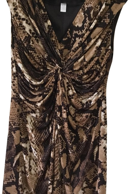 Preload https://item4.tradesy.com/images/chico-s-python-snake-print-gathered-sleeveless-mid-length-workoffice-dress-size-14-l-23888518-0-1.jpg?width=400&height=650