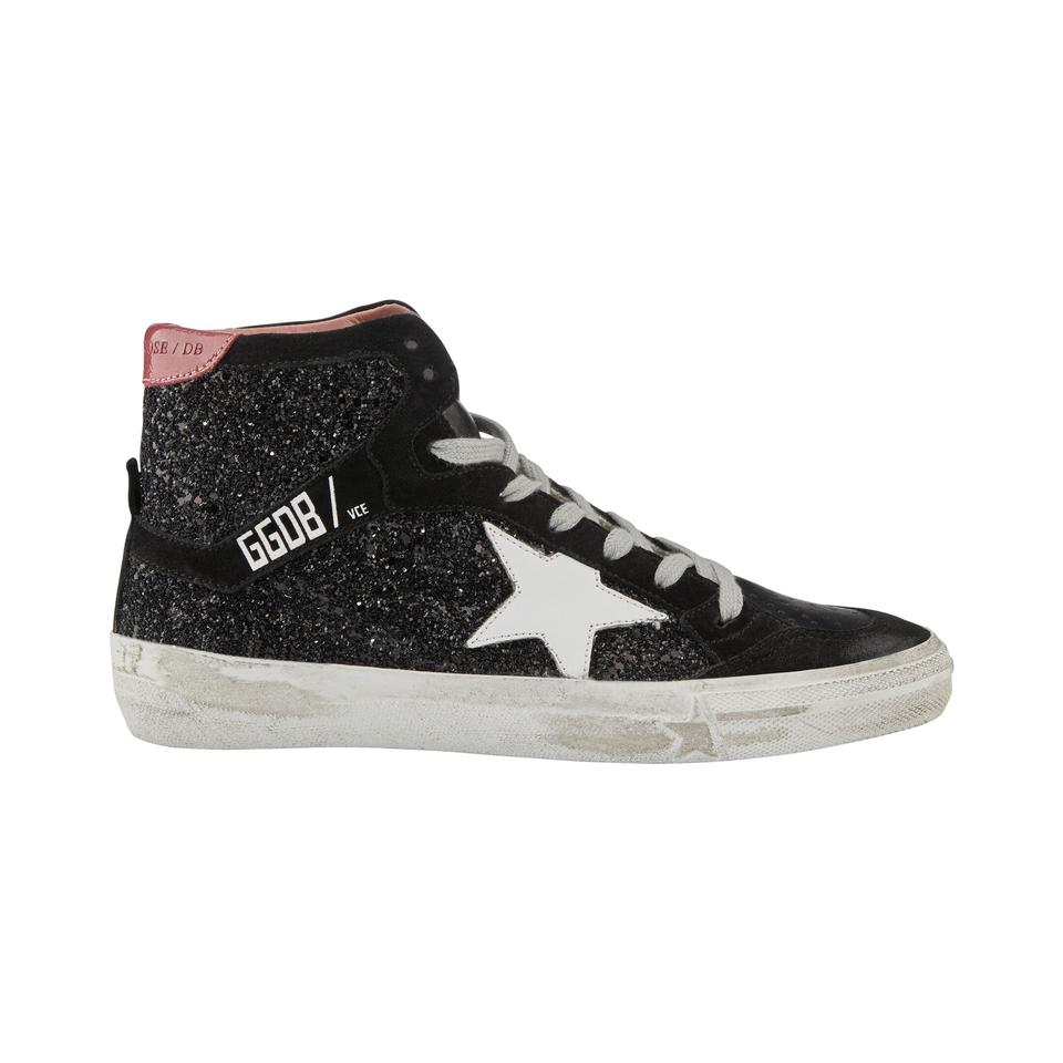 76720b47e394 Golden Goose Deluxe Brand Superstar Ggdb Low-top Star Black Athletic Image  0 ...