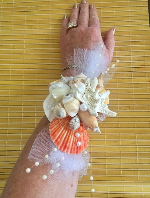 """Item - Multicolor Mermaid Tropical Wrist Corsage """"One Of A Kind"""" New Bracelet"""
