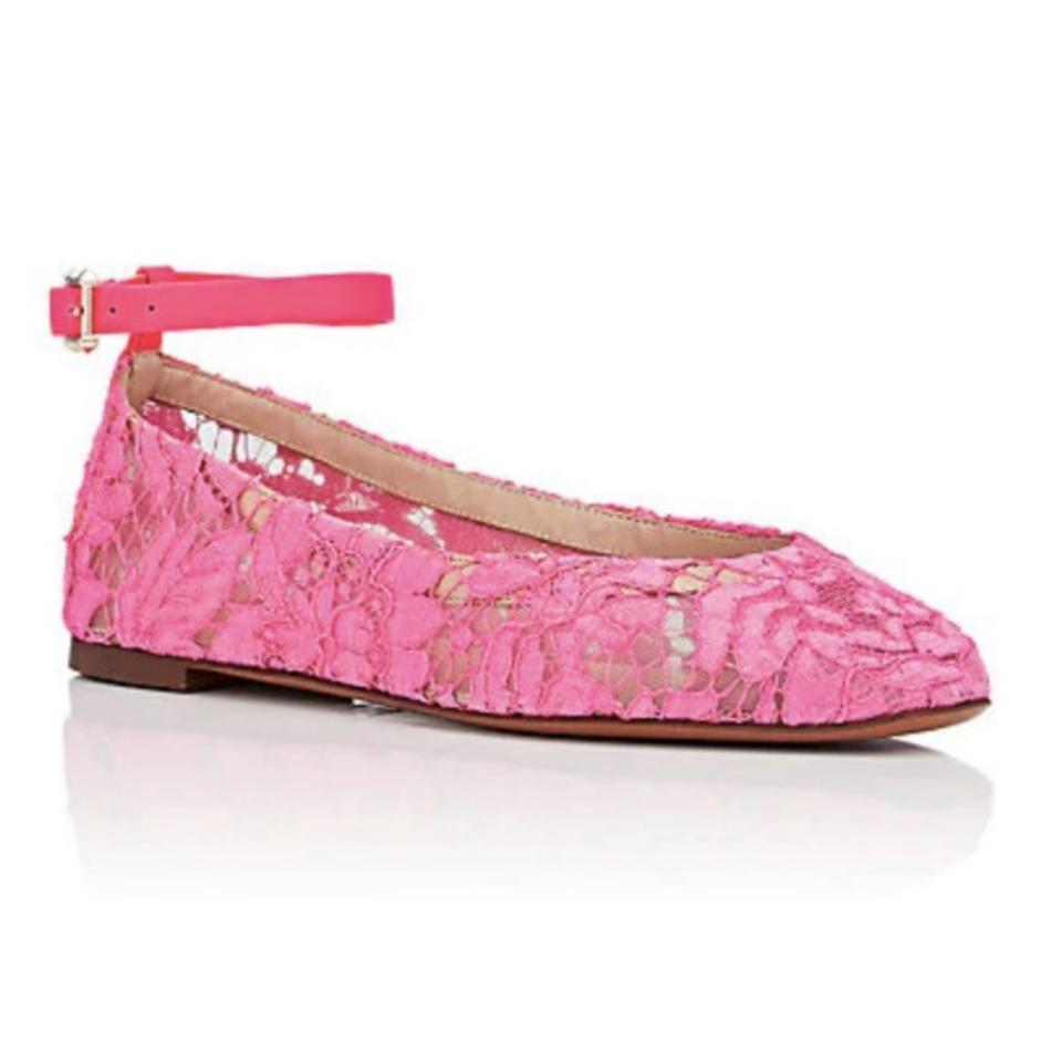 LADY Valentino Pink Complete Neon Flats Complete Pink specification area 1b0073